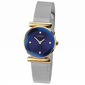 Sekonda Ladies' Stainless Steel Mesh Bracelet Watch - Product number 4492374