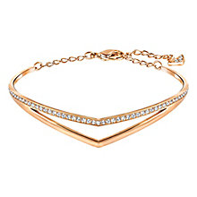 Swarovski Rose Gold Plated Alpha Bracelet - Product number 4492455