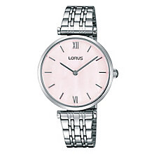 Lorus Women's Mother Of Pearl Dial Bracelet Watch - Product number 4493656