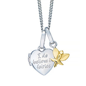 Tiny Treasures Sterling Silver I Do Believe In Fairies - Product number 4493737