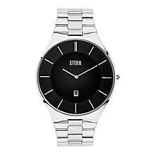 STORM Slim-X Men's Black Dial Stainless Steel Bracelet Watch - Product number 4494164