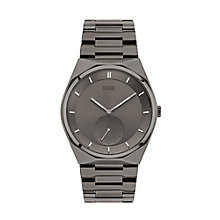 Storm Men's Round Grey Dial Two Tone Bracelet Watch - Product number 4494326