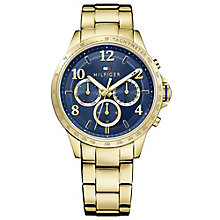 Tommy Hilfiger Ladies' Gold Plated Bracelet Watch - Product number 4494334