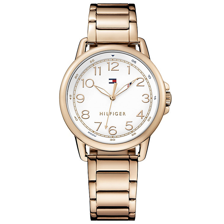Tommy Hilfiger Ladies' Rose Gold Plated Bracelet Watch - Product number 4494822