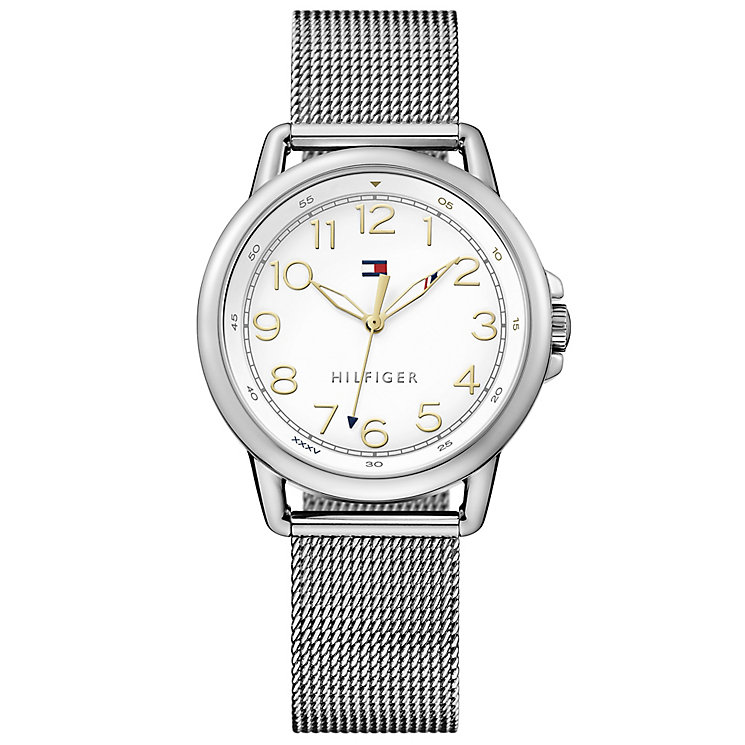 Tommy Hilfiger Ladies' Mesh Stainless Steel Bracelet Watch - Product number 4494830