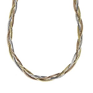 9ct Gold Herringbone Necklace