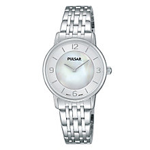Pulsar Women's Mother Of Pearl Dial Bracelet Watch - Product number 4499476