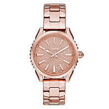 Diesel Ladies Nuki Rose Dial Bracelet Watch - Product number 4500733
