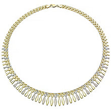 """9ct Two Tone 16.5"""" Necklace - Product number 4503058"""