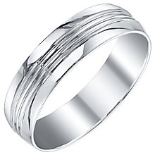 Men's Platinum 6mm Band - Product number 4504070