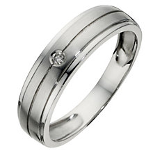 9ct White Gold Diamond Ring - Product number 4504410