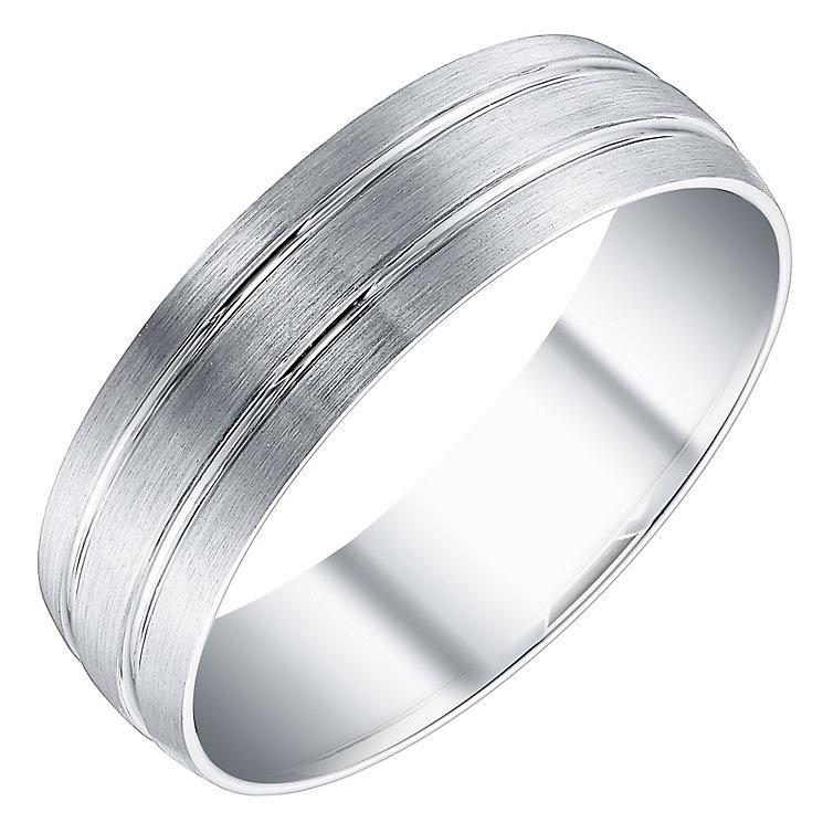 Men's Platinum 6mm Band - Product number 4504798