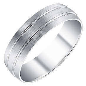 Men's Platinum 6mm Band - Product number 4504798