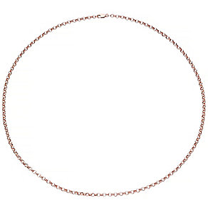 "9ct Rose Gold 24"" Belcher Chain Necklace - Product number 4506464"