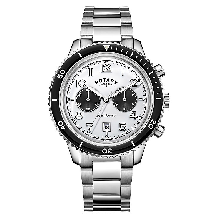 Rotary Ocean Avenger Men's Stainless Steel Bracelet Watch - Product number 4508300
