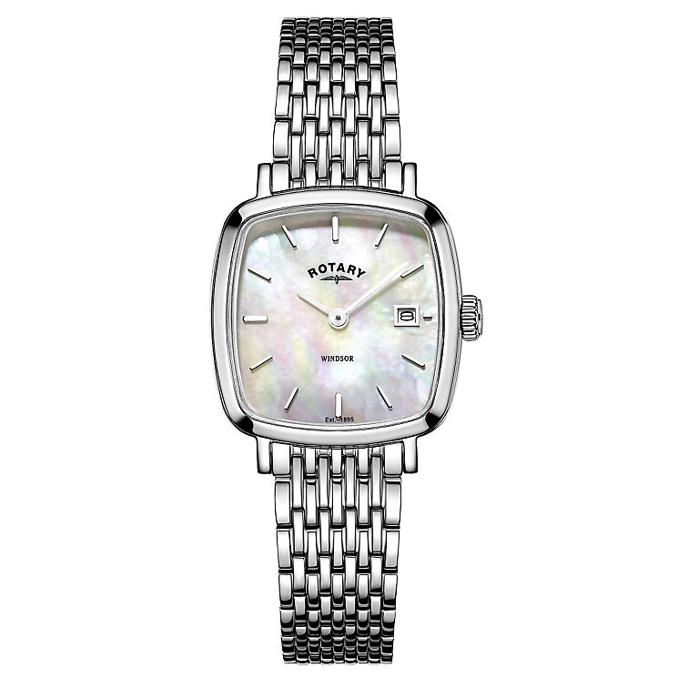 Rotary Ladies' Stainless Steel Bracelet Watch - Product number 4508874