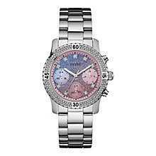 Guess Ladies' Round Dial Stainless Steel Bracelet Watch - Product number 4509617