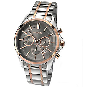 Sekonda Men's 2 Colour Stainless Steel Bracelet Watch - Product number 4509803