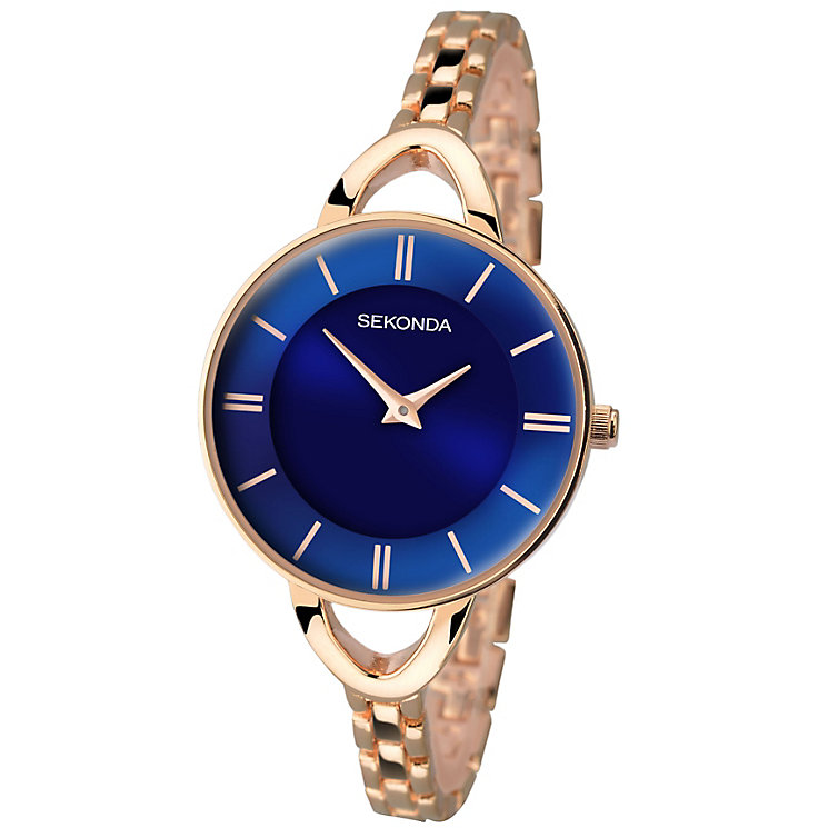 Sekonda Editions Ladies' Gold-Plated Bracelet Watch - Product number 4509889