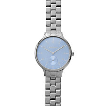 Skagen Ladies Blue Dial Stainless Steel Bracelet Watch - Product number 4510135