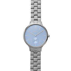 Skagen Ladies Blue Dial Stainless Steel Bracelet Watch - Product number 4510135