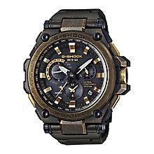 Casio G-Shock Mtg Men's Ion Plated Black Bracelet Watch - Product number 4510674