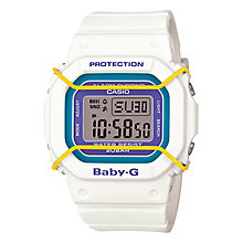 Casio Baby-G Ladies' Digital White Strap Watch - Product number 4510909