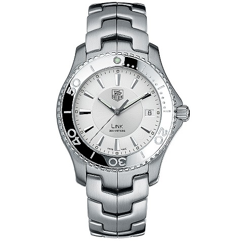 TAG Heuer Link men's stainless steel watch