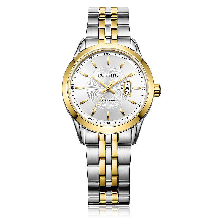 Rossini Sapphire Ladies' Stainless Steel Bracelet Watch - Product number 4520688