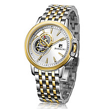 Rossini Men's Two Colour Stainless Steel Bracelet Watch - Product number 4532333