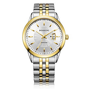 Rossini Sapphire Men's 2 Tone Stainless Steel Bracelet Watch - Product number 4532406