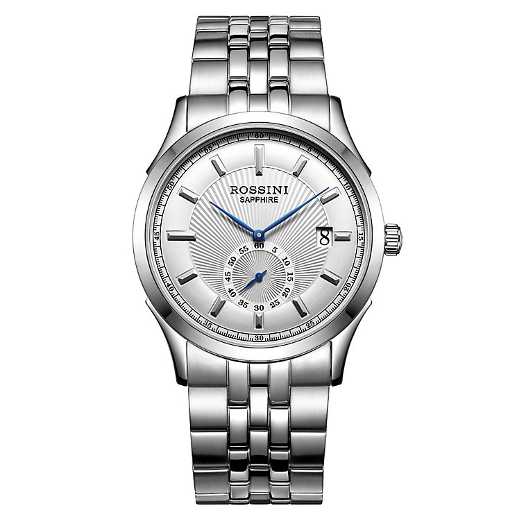 Rossini Sapphire Men's Stainless Steel Bracelet Watch - Product number 4532503