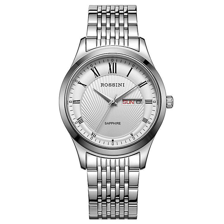 Rossini Sapphire Men's Stainless Steel Bracelet Watch - Product number 4532554
