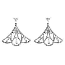 Emmy London Silver 1/4 Carat Diamond Earrings - Product number 4532902