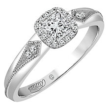Emmy London 9ct White Gold 1/4 Carat Diamond Solitaire - Product number 4535030