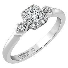Emmy London Palladium 1/3 Carat Diamond Solitaire - Product number 4536576