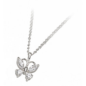 Silver Stone-Set Necklace - Product number 4537505
