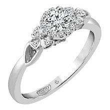 Emmy London Palladium 1/3 Carat Diamond Solitaire Ring - Product number 4537548
