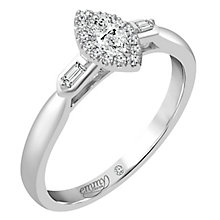 Emmy London Platinum 1/4 Carat Diamond Solitaire - Product number 4537750