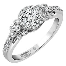 Emmy London 18ct White Gold 1/2 Carat Diamond Solitaire - Product number 4538587