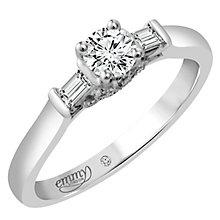 Emmy London Platinum 2/5 Carat Diamond Solitaire Ring - Product number 4541626