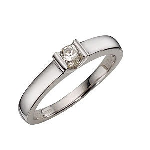 White Gold Diamond Ring - Product number 4544188