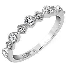 Emmy London Palladium 0.15 Carat Diamond Ring - Product number 4544692