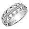 Emmy London Palladium 1/4 Carat Diamond Ring - Product number 4545885