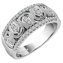 Emmy London 18ct White Gold 1/4 Carat Diamond Ring - Product number 4546016