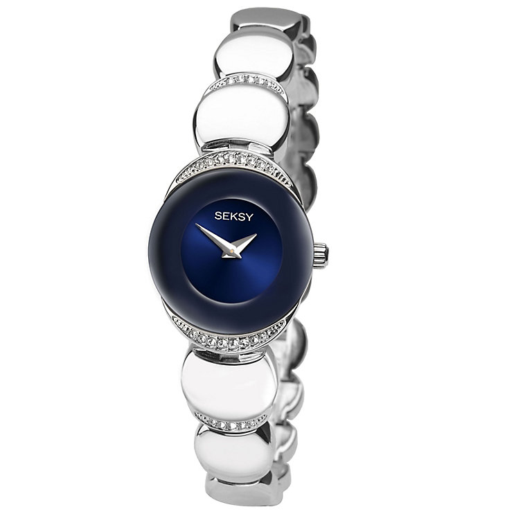 Sekonda Seksy Ladies' Sapphire Stainless Steel Watch - Product number 4546482