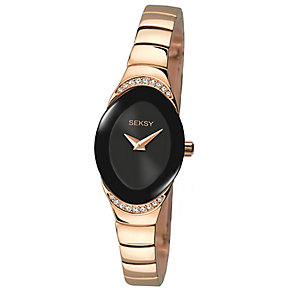 Sekonda Seksy Ladies' Rose Gold-Plated Bracelet Watch - Product number 4546520