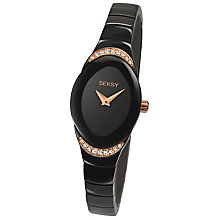 Sekonda Seksy Ladies' Black Stainless Steel Bracelet Watch - Product number 4546547