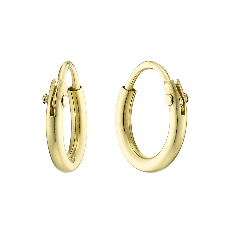 9ct Gold Sleeper Earrings - Product number 4546784