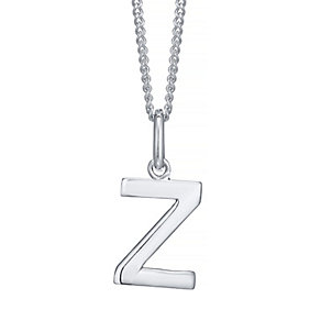 Silver Z Initial Pendant - Product number 4549708